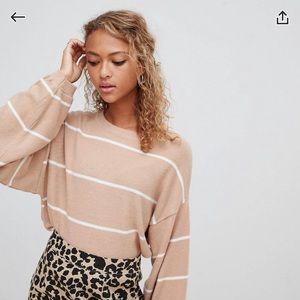 Asos striped sweater